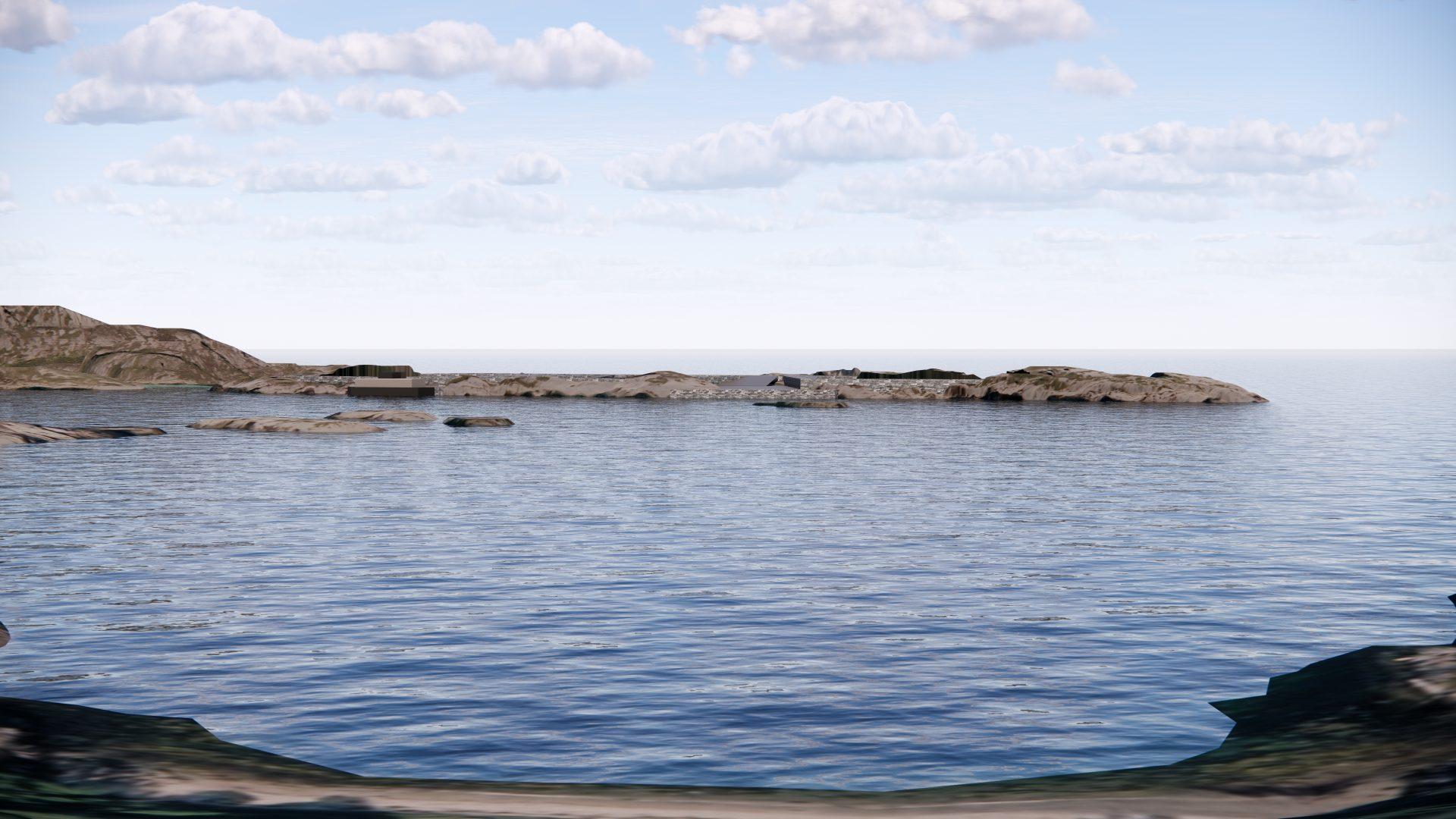 Perspektiv, illustrasjon av Gigante Salmon Rødøy